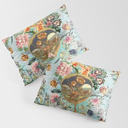 Floral and Lobster Pillow Sham