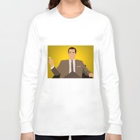mad men Long Sleeve T-shirts featuring Don Draper - Mad Men by Tom Storrer