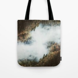 Forest Layers Tote Bag