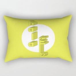 Hello Arabic Rectangular Pillow