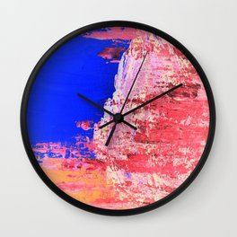 Into the Mist Pantone Color of the Year 2016 Abstract Wall Clock