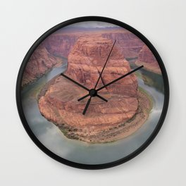 Horse Shoe Bend Wall Clock
