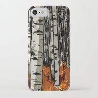birch iPhone & iPod Cases featuring Birch by LeahOwen