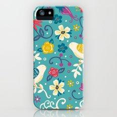 Garden Birds iPhone (5, 5s) Slim Case