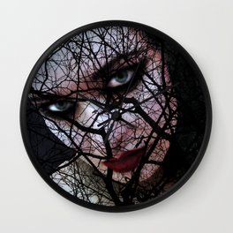 Darkwood Wall Clock