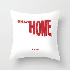 oklaHOME Throw Pillow