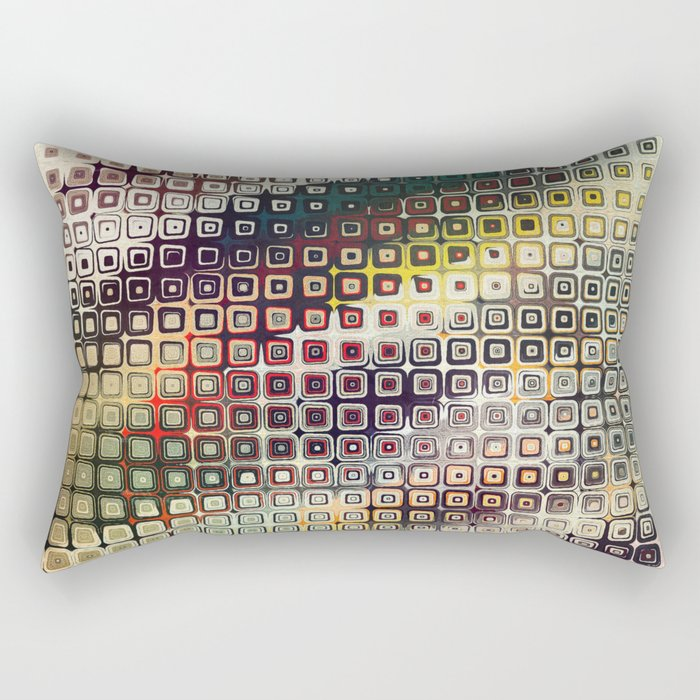 Abstract SQC Rectangular Pillow