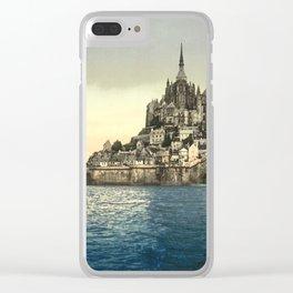Mont Saint-Michel - Normandy, France Clear iPhone Case