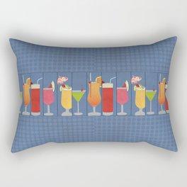 Fruit Drinks Rectangular Pillow