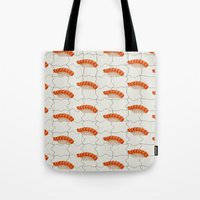 hentai Tote Bags featuring Sushi by [Oxz]