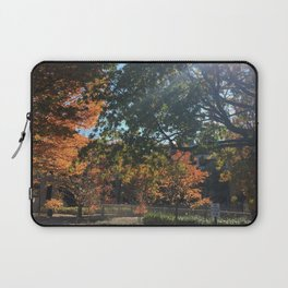 A Fall Day Somewhere in Ohio Laptop Sleeve