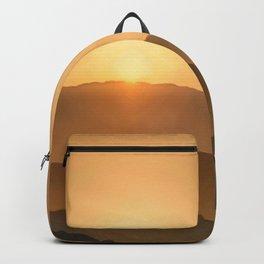 Sunrise in the mountains - beautiful morning - #Society6 #buyart Backpack
