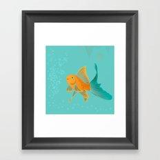 Approaching Dusk - Under The Sea Framed Art Print
