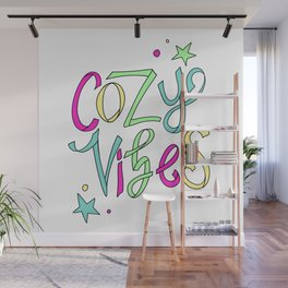 Cozy Vibes Wall Mural