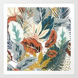 Tropical Wild Jungle Art Print