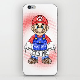 It's ME, Mario !  iPhone Skin