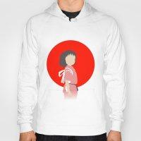 chihiro Hoodies featuring Chihiro by adovemore