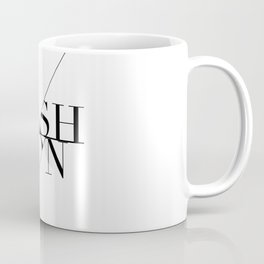 fashion typography Coffee Mug