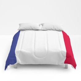 France flag emblem Comforters
