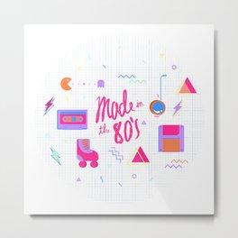 80's Metal Print