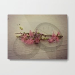 Timed Beauty Metal Print