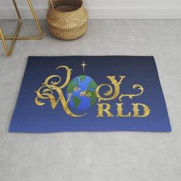 Joy to the World Golden Rug