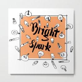 Bright Spark Metal Print