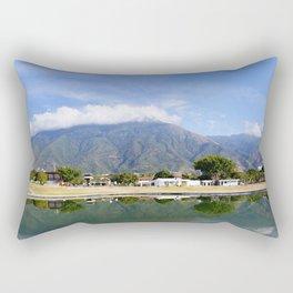 El Ávila desde el Parque Simón Bolívar Rectangular Pillow