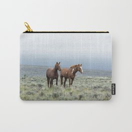 Wild Horses - Steens No. 1 Carry-All Pouch
