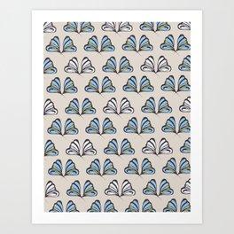 Madam Butterfly Print Art Print
