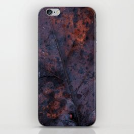 Winter Leaves iPhone Skin