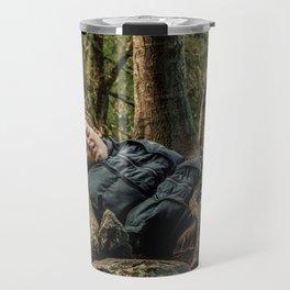 Man versus Nature Travel Mug