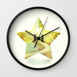 Super Star - Kart Art Wall Clock
