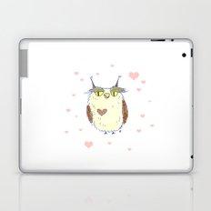 Owl Heart Laptop & iPad Skin