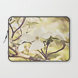 Dogwood in bloom Laptop Sleeve