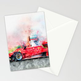 Niki Lauda No.12 Stationery Cards