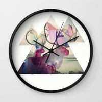 spirit Wall Clocks featuring The spirit VI by Laure.B