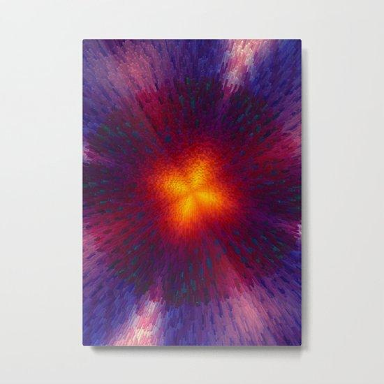 Explosion 3 Metal Print