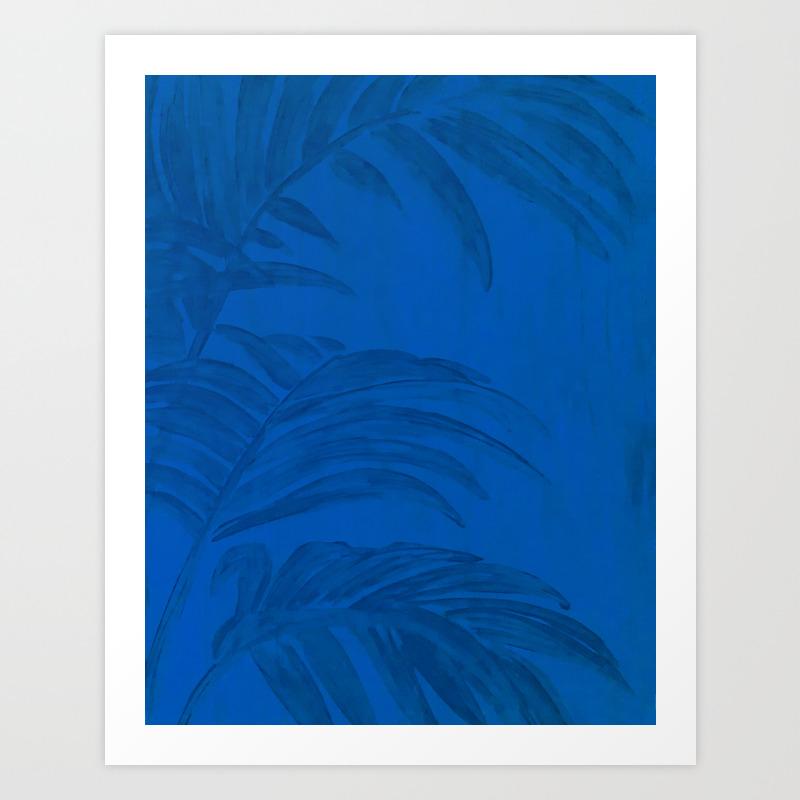 Jardin Majorelle Art Print By Mauramon Society6