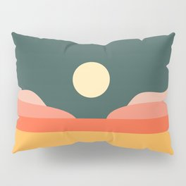 Geometric Landscape 14 Pillow Sham
