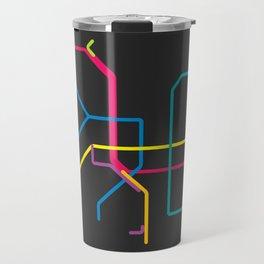 taipei metro map Travel Mug