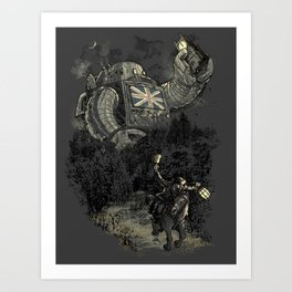 Twenty if by Giant Robot Art Print