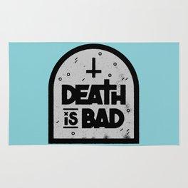 Death is Bad Rug