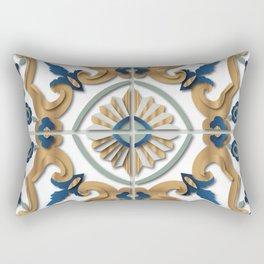 Libyan tiles Rectangular Pillow