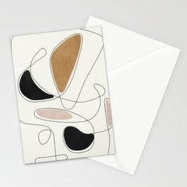 Thin Flow III Stationery Cards