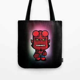 Devil Boy Tote Bag