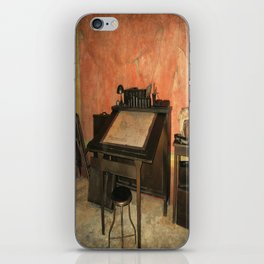 Antique Nautical Desk  iPhone Skin