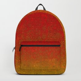 Flame Glitter Gradient Backpack