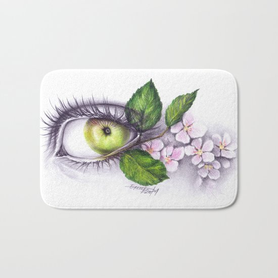 Apple of my eye Bath Mat
