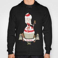 Merry Lady Christmas Cupcake Hoody